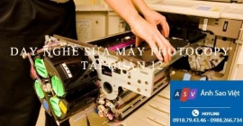 Dạy sửa máy photocopy tại QUẬN 12