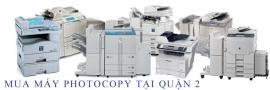 Mua máy photocopy tại QUẬN 2