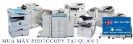 Mua máy photocopy tại QUẬN 3