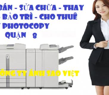 Mua Bán Máy Photocopy Tại Quận 8 Tp.HCM