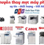 Nạp Mực Photocopy Canon