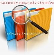 Bảng tra mã lổi máy photocopy toshiba 2508A