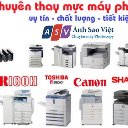 Thay Mực - Nạp Mực Máy Photocopy Giá Rẻ Tại Gò Vấp