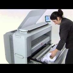 Photocopy a0 PlotWave 300