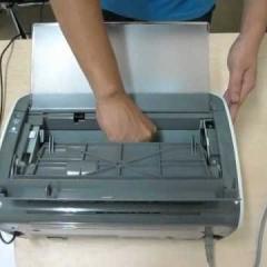 Sửa chữa máy in Canon 2900 : In Không Ra Chữ, Bản In Bị Đen