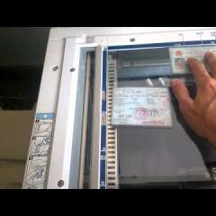 hướng dẫn photocopy chứng minh nhân dân và bằng lái xe, cà vẹt xe