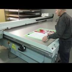 giới thiệu máy in màu a0 Océ Arizona 400 and 600 series overview