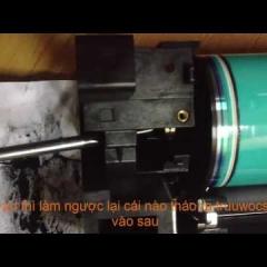Hướng dẫn thay trống,thay cò trống máy photocopy ricoh MP 4001,5001,4000,5000