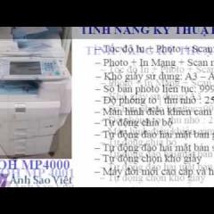 Bảng báo giá máy photocopy Ricoh giá rẻ - Giá tốt HCM