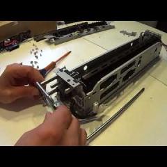 hướng dẫn thay fusing bell film sấy máy photocopy ricoh mp 3002/3502/4502/5502