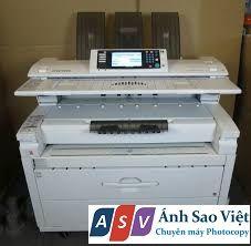 máy photocopy a0 ricoh mp w7140