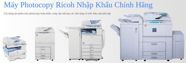 Máy photocopy ricoh nhập khẩu chính hãng